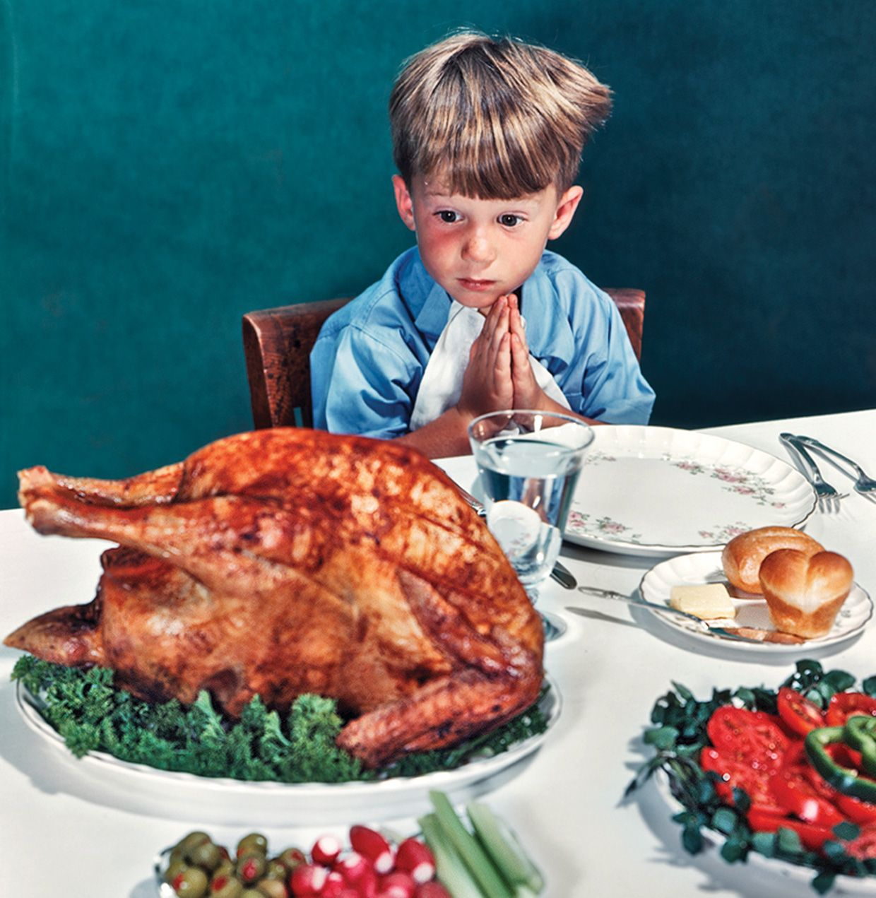 "Norman Rockwell's ""Thanksgiving Blessing"""